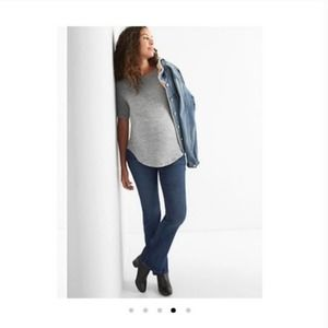 Gap Full Panel Perfect Boot Maternity Boot Jeans